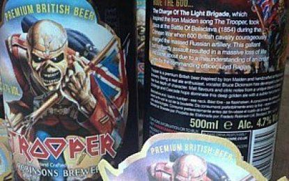 A cerveja do Iron Maiden já chegou ao Brasil
