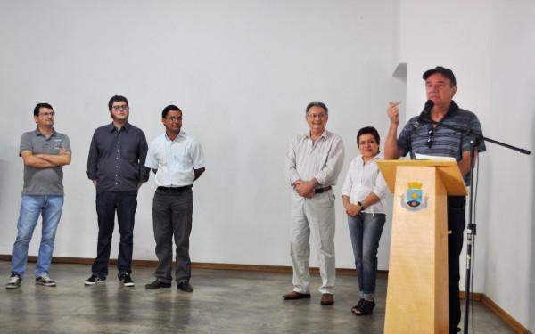 Vice-prefeito de Itapeva Geraldo discursa na Conferência