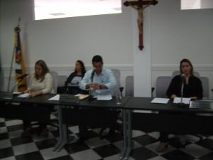 Maria Tereza, André e Vanuza: favoráveis ao projeto.