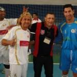 Viola, Biro Biro e goleiro Sergio