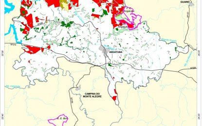 Vegetação natural de Angatuba está inferior a 10% da área do município