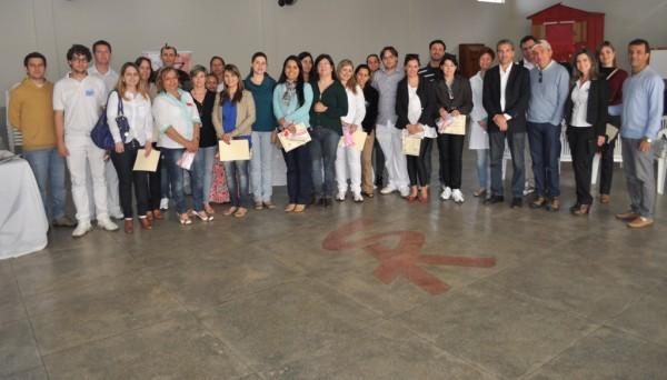 Representantes de quinze cidades participaram da calibragem em Itapeva.