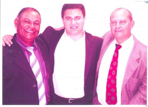 Luiz Albino, deputado Rodrigo Moraes e luiz da Ambulância
