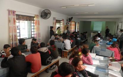 Secretaria de Defesa Social de Itapeva realiza oficinas sobre o meio ambiente