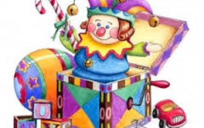 A caixa de brinquedos