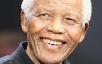O líder Mandela