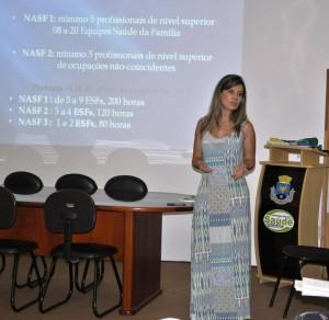 Alessandra Muzel Ibrahim Proença, coordenadora do NASF