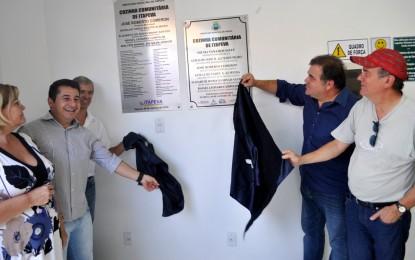 Prefeito Comeron inaugura Cozinha Comunitária em Itapeva