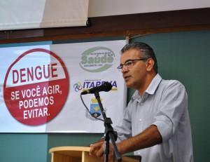 Secretário municipal de saúde Luiz Fernando Tassinari