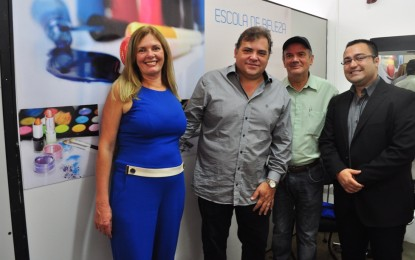 Fundo Social de Solidariedade inaugura Escola de Beleza em Itapeva