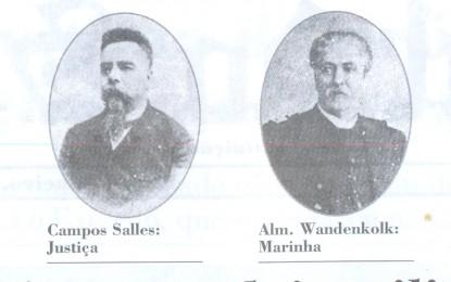 JORNAL DO SENADO – SÁBADO, 16 DE NOVEMBRO DE 1889- Primeiro ministério tem dois militares e quatro civis. Falta ser confirmado nome para Agricultura