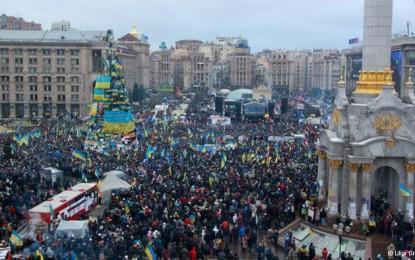 A Ucrânia no caminho das superpotências