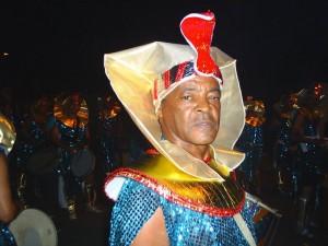 Nelsinho no carnaval de 2006.
