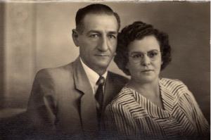 Rafael Basile e Euclydia Leite de Souza