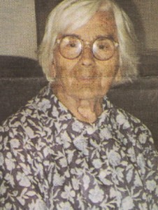 A Professora Júlia Leite de Souza
