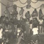 Angatuba- década de 70. A foto, um baile de carnaval de salão, no então distrito de Angatuba, Campina do Monte Alegre, que se transformou em município no ano de 1992.