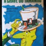 """""""A chave do tamanho"""" (1942)- Monteiro Lobato.  Os personagens são os mesmos do primeiro livro da série sobre o Sítio do Picapau Amarelo, o livro Reinações de Narizinho: Dona Benta, a avó de Pedrinho e Narizinho; tia Nastácia, a cozinheira; Visconde de Sabugosa, um sabugo de milho muito sábio; Quindim, um rinoceronte domesticado; Conselheiro, um burro falante e Marquês de Rabicó, o porquinho que foi casado com Emília, a boneca de pano que foi evoluindo até virar gente. E Emília é a protagonista deste livro, onde é relatada uma travessura sua: a redução temporária no tamanho das criaturas humanas. Tudo teve início porque Dona Benta andava arrasada com os horrores da guerra e a sua tristeza entristecia o Sítio do Picapau, outrora tão alegre e feliz. E foi justamente por causa dessa tristeza que Emília planejou e realizou a mais tremenda aventura. Querendo acabar com a guerra, por um triz a boneca não acabou com a humanidade inteira."""