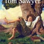 """""""As Aventuras de Tom Sawyer"""" (1876)- Mark Twain.O livro conta as aventuras do rapaz Tom Sawyer,que vive com sua tia Polly, o irmão Sid e o amigo Huckleberry Finn. Samuel Langhome Clemens (Florida, Missouri, 30 de novembro de 1835, Redding, Connecticut, 21 de abril de 1910) , mais conhecido pelo pseudônimo Mark Twain, escritor e humorista norte-americano acabou se tornando mundialmente famoso justamente por causa do personagem Tom Sawyer."""