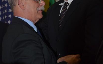 Festiva da posse de Claudio Béquis Araújo na presidência do Rotary Club no dia 11 de julho de 2014