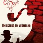 """""""Um Estudo em Vermelho"""" (1888)- Sir Arthur Conan Doyle. Publicado originalmente pela revista Beeton's Christmas Annual em novembro de 1887. A obra é famosa por ser o primeiro livro de Sherlock Holmes, detetive mundialmente conhecido na literatura  policial. É também, nessa obra, que acontece seu encontro com Dr. Watson, narrador e participante das aventuras do detetive através de um amigo comum. """"Um Estudo em Vermelho"""" propõe um enigma terrível para a polícia, que pede auxílio a Holmes: um homem é encontrado morto, sem ferimentos e cercado de manchas de sangue. Em seu rosto, uma expressão de pavor. Mas Sherlock Holmes comanda apenas a primeira parte do livro e dois capitulos da segunda parte, até desvendar magnificamente a identidade do assassino. Na segunda parte ele pouco aparece, e o autor parece escrever um conto sobre o que viria a ser conhecido como """" Velho Oeste"""", demorando-se a contar a vida dos Mórmons em zona rural dos Estados Unidos, até que vários acontecimentos levassem ao vingativo desfecho em Londres. Sir Arthur Ignatius Conan Doyle (Edimburgo, 22 de maio de 1859 / Crowborough, 7 de julho de 1930 ) , escritor e médico nascido na Escócia, mundialmente famoso por suas 60 histórias sobre o detetive Sherlock Holmes , consideradas uma grande inovação no campo da literatura criminal. Foi um escritor prolífico cujos trabalhos incluem histórias de ficção científica, novelas históricas, peças e romances, poesias e obras de não-ficção. Arthur Conan Doyle viveu e escreveu parte de suas obras em Southsea, um bairro elegante de Portsmouth."""