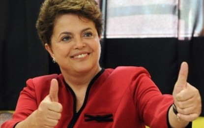 PT,partidos aliados e simpatizantes, de Angatuba, comemoram vitória de Dilma. Com porcentagem quase idêntica ao primeiro turno Aécio vence no município