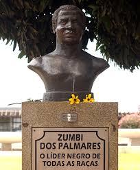 Monumento a Zumbi em Brasília.