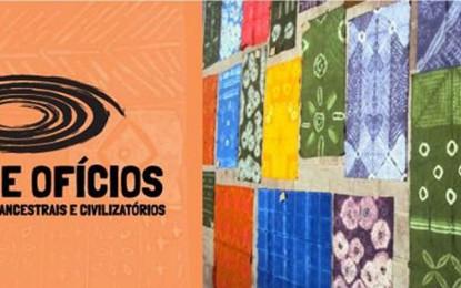 Exposição mostra em São Paulo estampagens de práticas africanas desenvolvidas na comunidade do Jaó , Itapeva, e em Havana, Cuba