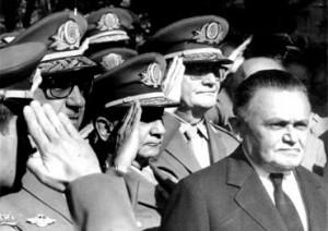 Marechal Castelo Branco eleito indiretamente em 1964.