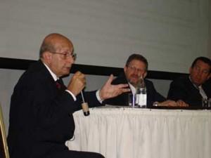 Desembargador Sebastião Amorim em evento anterior.