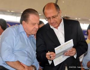 Gonzaga aceita o convite do governador Geraldo Alckmin para auxiliar no governo estadual (Foto/Arquivo).