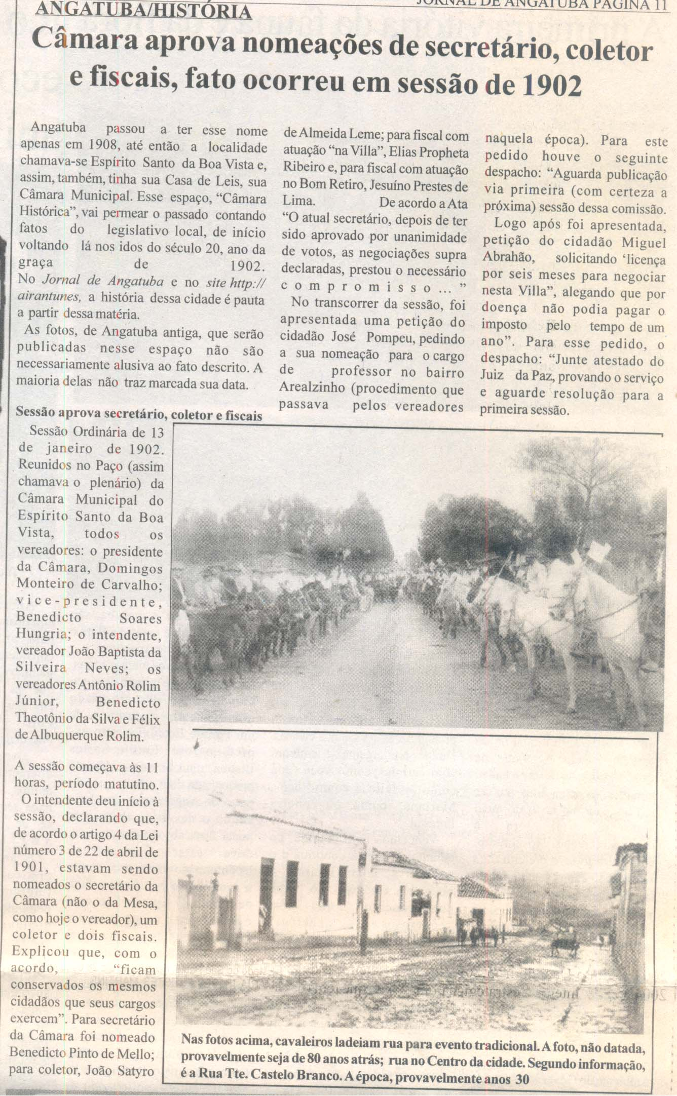 Angatuba história