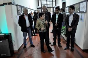 Secretária de Cultura Setembrina de Oliveira homenageia de Itapeva em seu discurso.