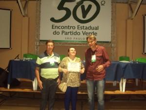 Saci, Rose e Márcio Abdelnur,. no encontro em Indaiatuba.