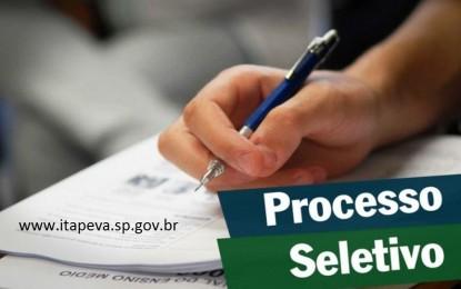 Prefeitura de Itapeva abre processo seletivo em diversas áreas