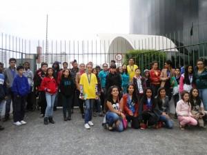 Os alunos de Itapeva que participaram da Olimpíada Paulista de Matemática
