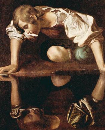 Aspectos de Narciso. Michelangelo Caravagiio 1596