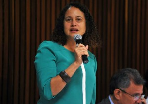 Deputada federal Luciana Santos