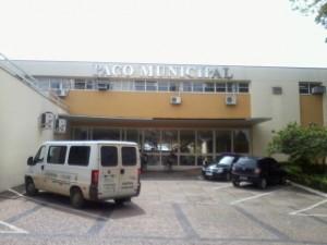 Paço Municipal da prefeitura de Itapeva