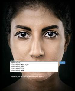 Em 2013, campanha da ONU usou pesquisas no Google para revelar a prevalência generalizada de machismo contra as mulheres