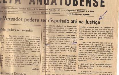 Processo de cassação já tramitou na Câmara de Angatuba, em 1986