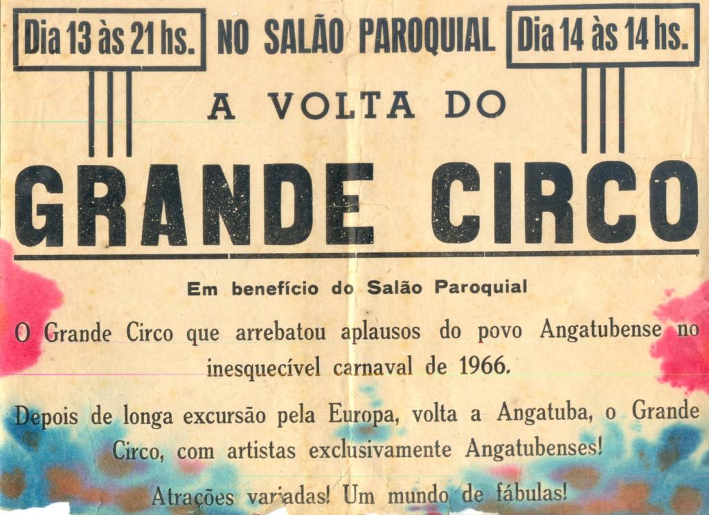 Propaganda publicada no jornal