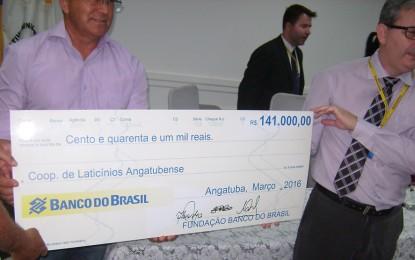 Fundação Banco do Brasil doa R$ 141 mil para a Colan, de Angatuba