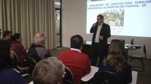 Palestrante fala sobre a importância do fomento à Agricultura Familiar
