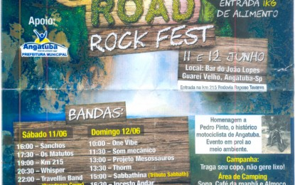 3º Eco Road Rock Fest no próximo final de semana no Guareí Velho