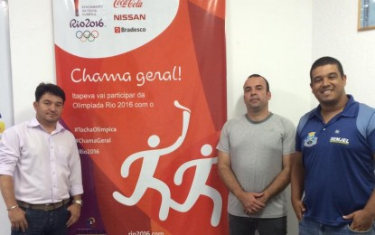 Itapeva recebe a Chama Olímpica dia 16 de julho, que percorrerá principais ruas e avenidas da cidade
