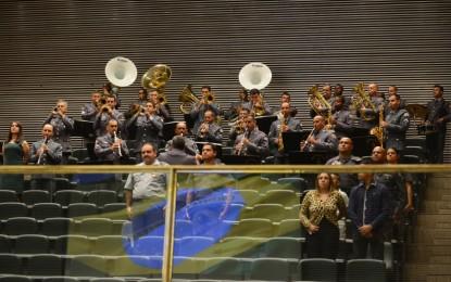 Banda Sinfônica da Polícia Militar do Estado de São Paulo abre a 12ª Semana Cultural Newton de Moura Müzel em Itapeva