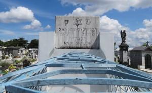 O túmulo do rabino em Manaus.