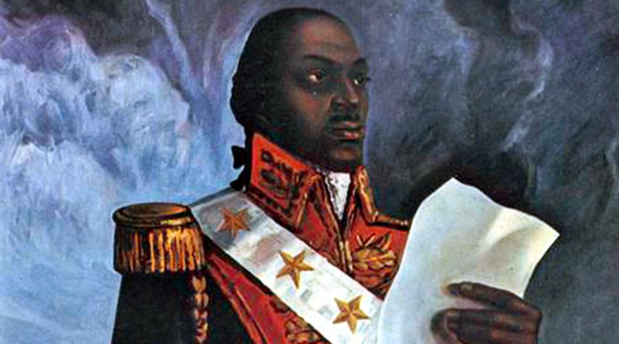 Imagem: Toussaint L'Ouverture, líder da revolução haitiana