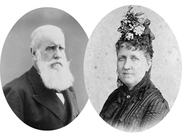 (A FOTO-Dom Pedro II e Princesa Isabel - De pai para filha | Crédito: Arquivo Aventuras)