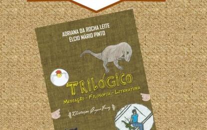 """Élcio Pinto e Adriana Leite lançam """"Trilógico: Mediação-Filosofia-Literatura"""", no domingo (27/11), em Itapetininga"""